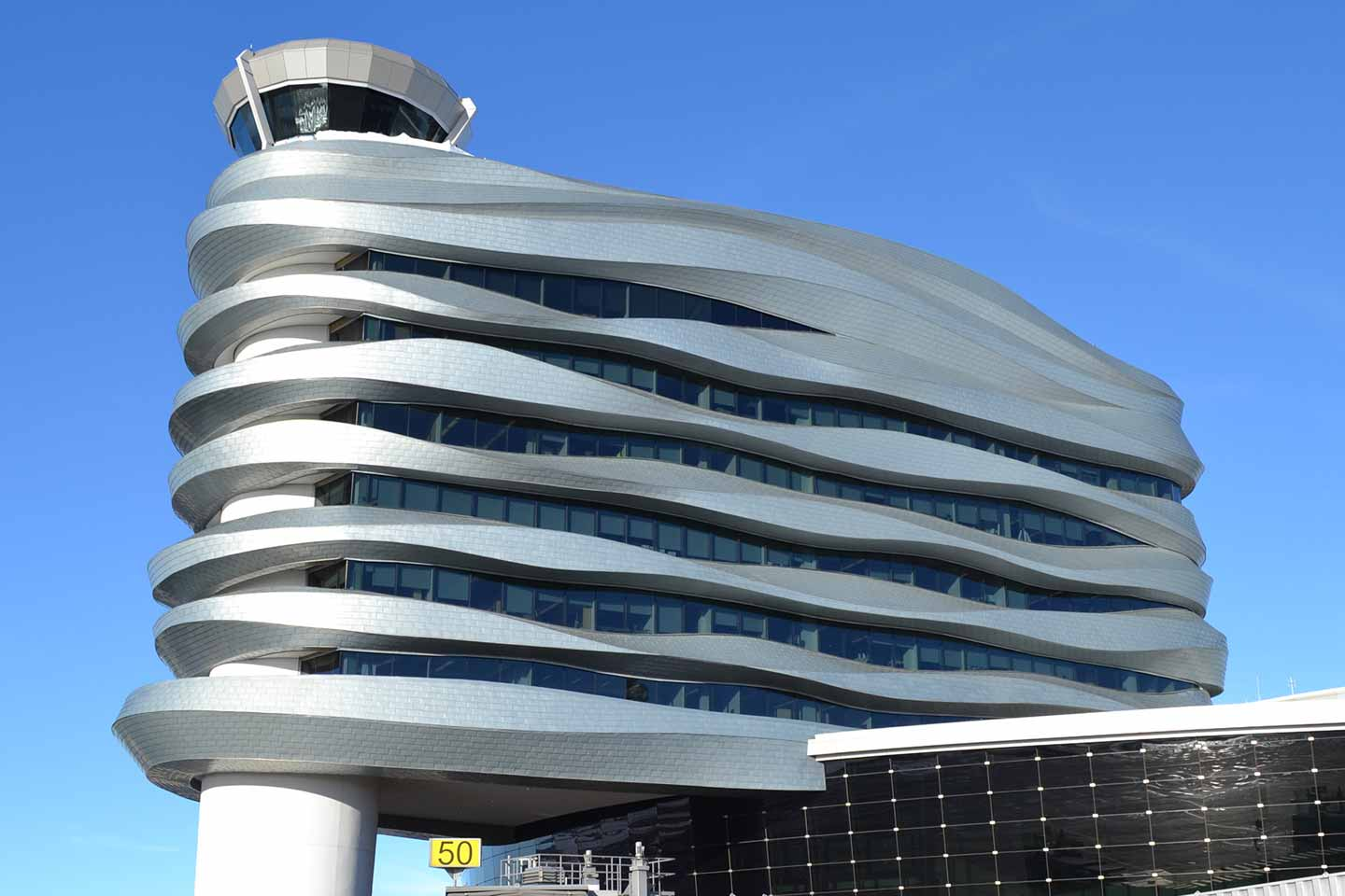 Grant Metal Products Project - Air Traffic Control Tower, Edmonton International Airport