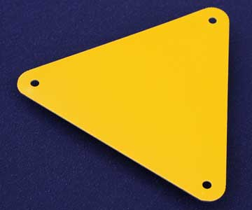 Variety of Sign Blanks available at Grant Metal Products
